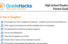 High School Parent Guide